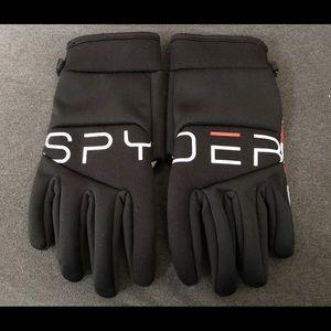 Spyder ski gloves